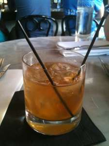 An Old Fashioned, Village Whiskey-style.