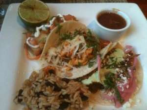 Tacos at the Mission Grill in Philadelphia, PA