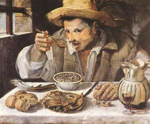 "Annibale Carracci: ""The Beaneater"""