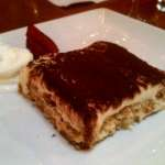 Tiramisu at Bella Blu