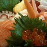 Chirashi Deluxe at Sansu Sushi
