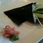 Eel Hand Roll at Sansu Sushi