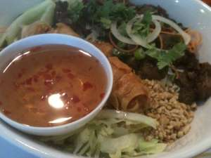 Vermicelli at Pho Barclay