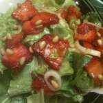 Strawberry and Butter Lettuce Salad