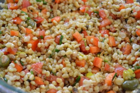 Fregola Salad