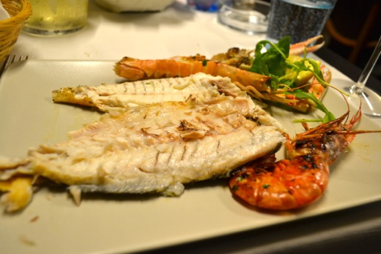 Mixed Seafood Grill - Plated
