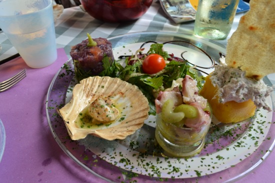 Mixed Seafood Antipasti