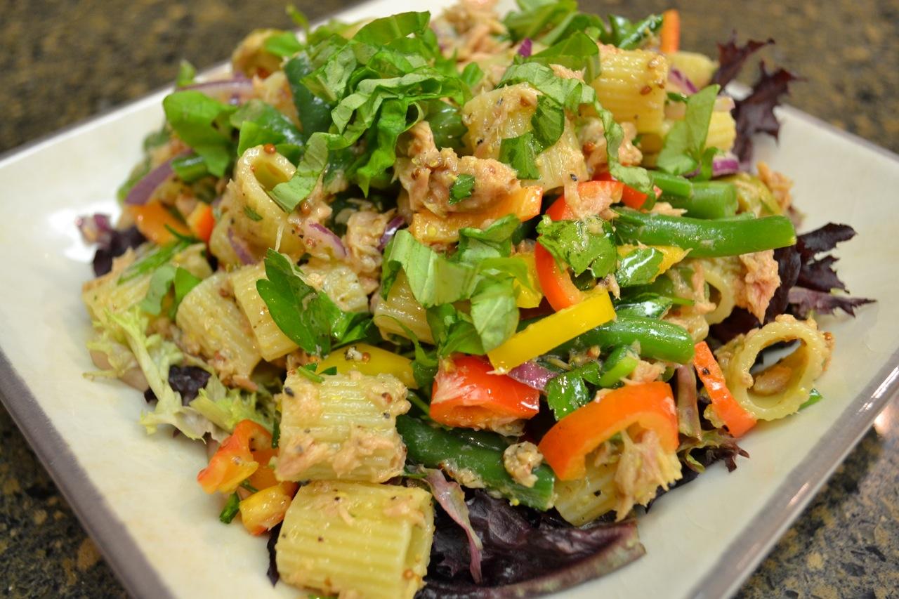 Tuna Pasta Salad Niçoise
