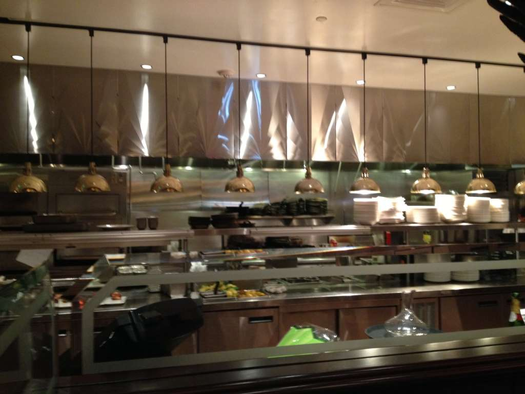 The Capital Grille open kitchen