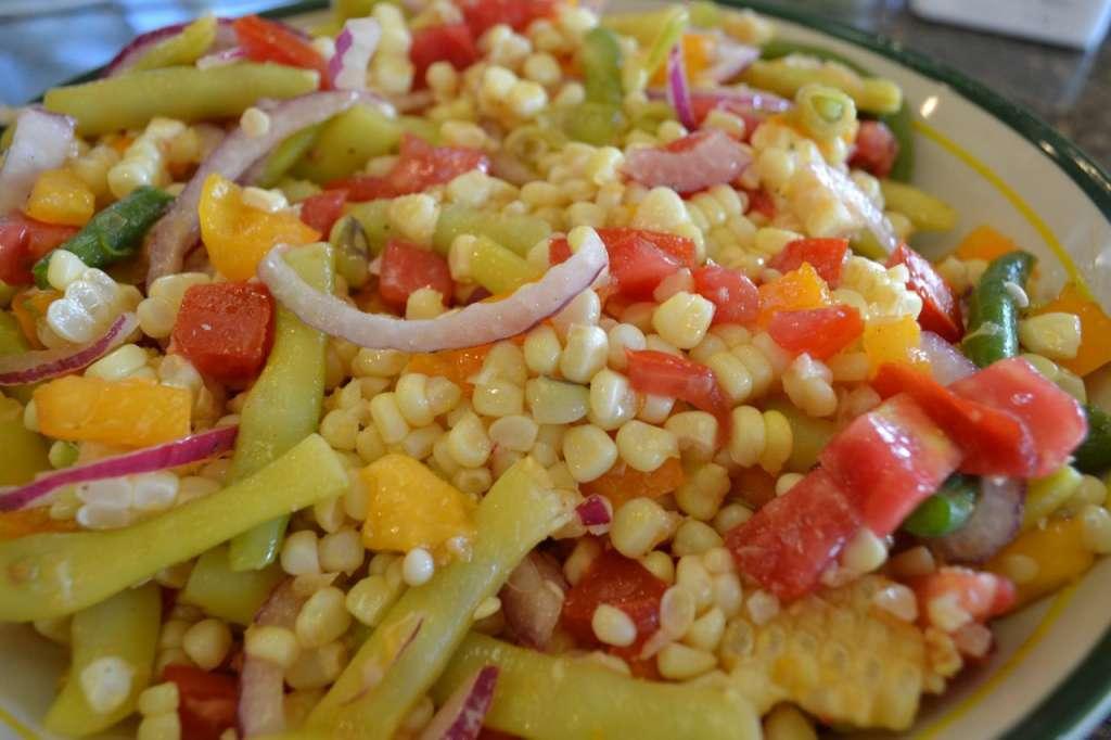 Bean, Corn and Tomato Salad