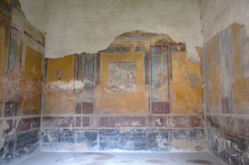 Frescoed rooms