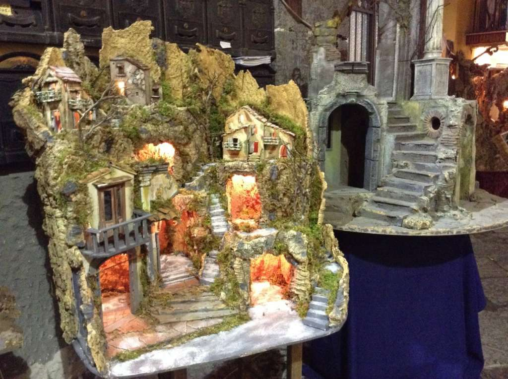 set pieces for the presepe