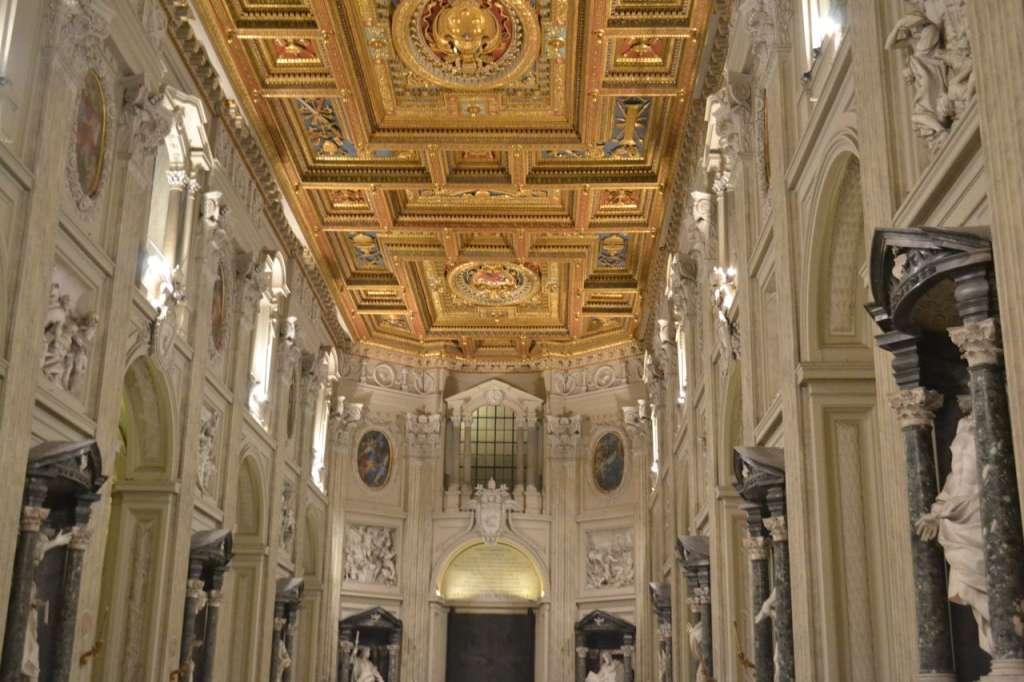 Inside the basilia