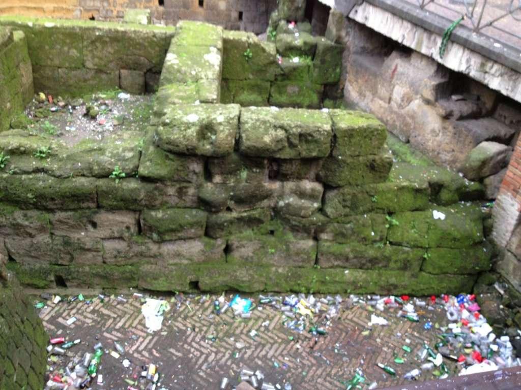 trashed ruins