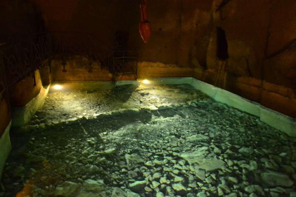 Underground water reservoir.
