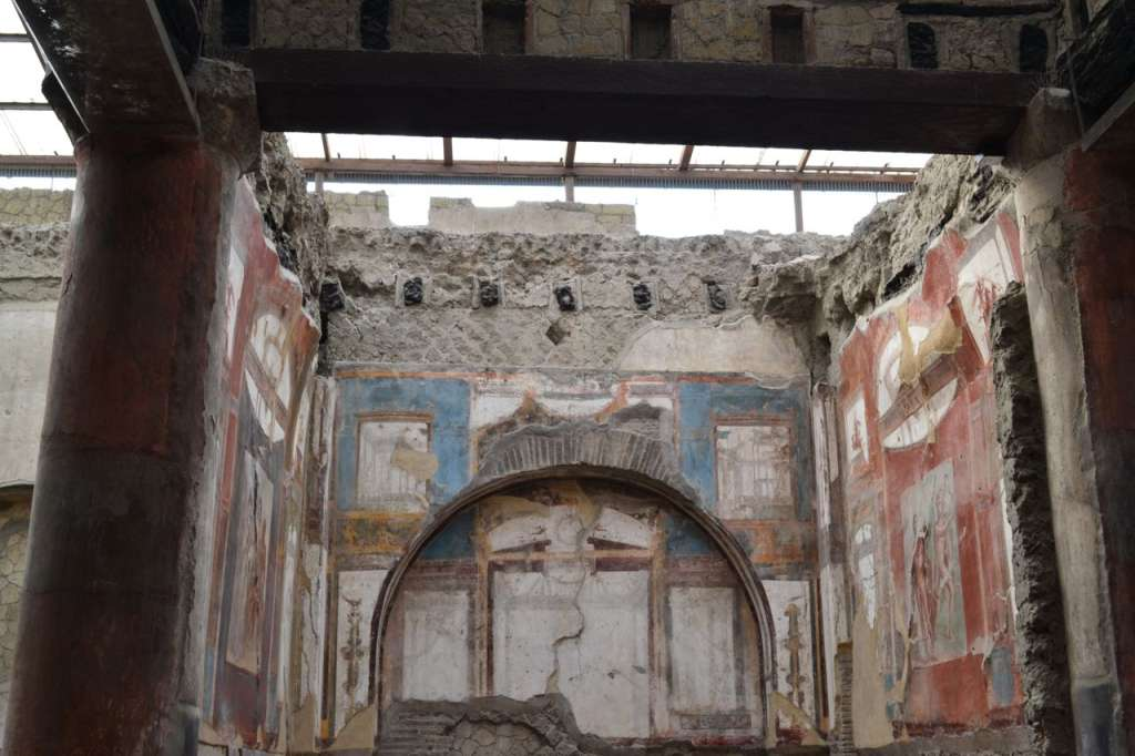 Well-preserved frescoes