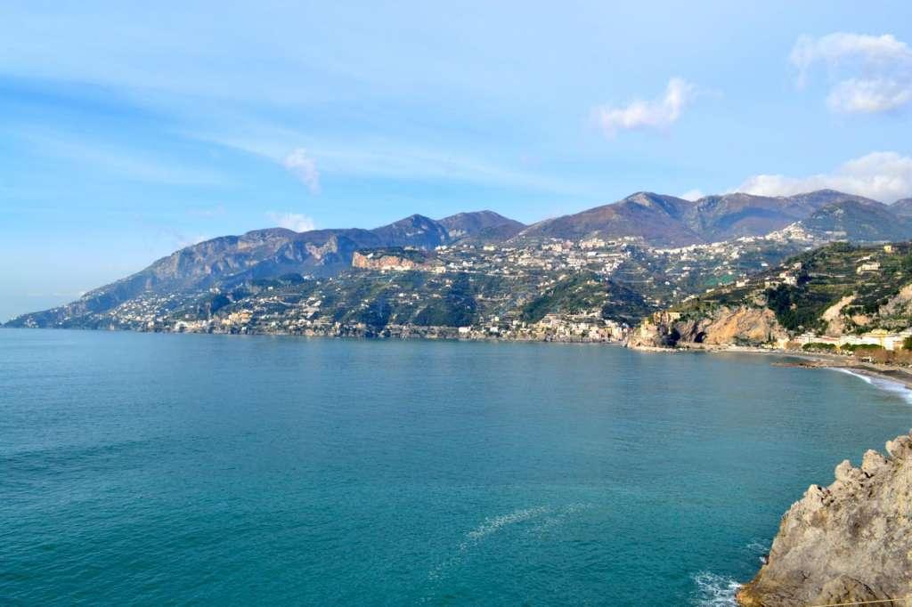 Looking toward Amalfi.