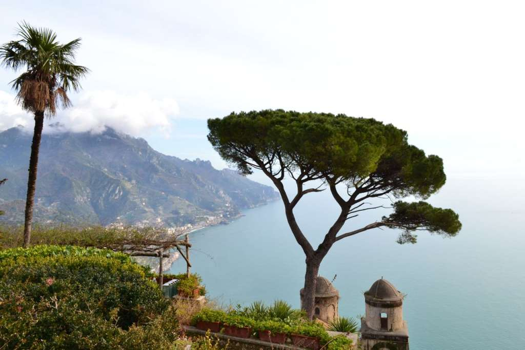 The view from Villa Rufolo
