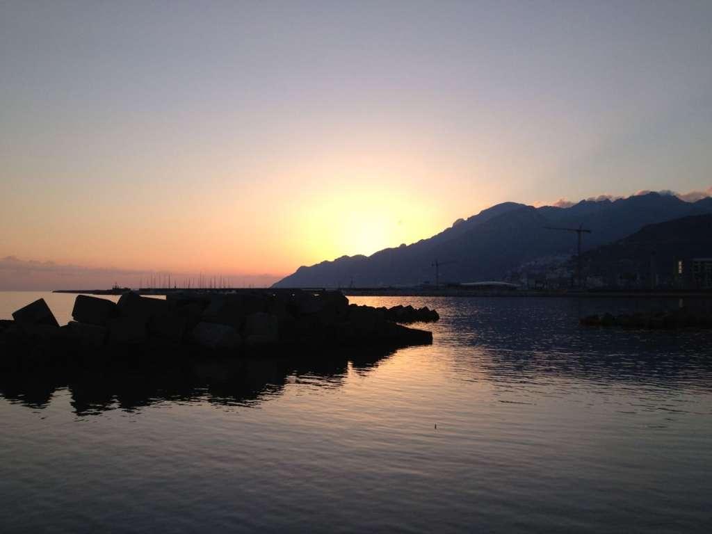 Sunset along the bay...