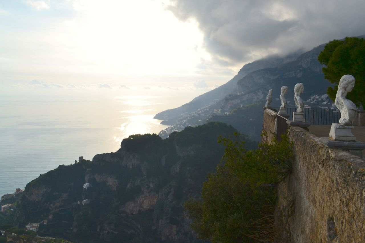 Italy 2014 day 15 amalfi coast drive and osteria angolo for Terrace of infinity
