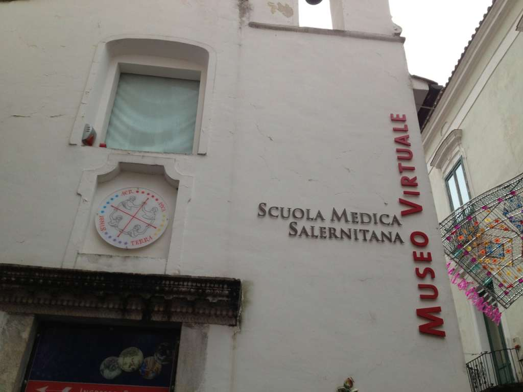 "The ""Virtual"" Museum of the Salerno Medical School."