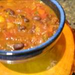 Black Bean and Winter Squash Chili