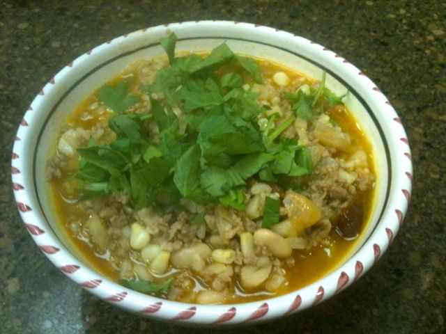 Winter White Pork Chili