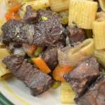 Venison Stew with Red Wine