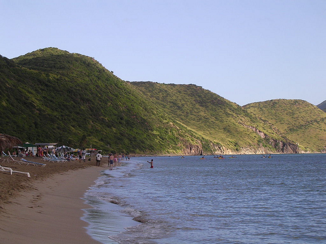St. Kitts beach