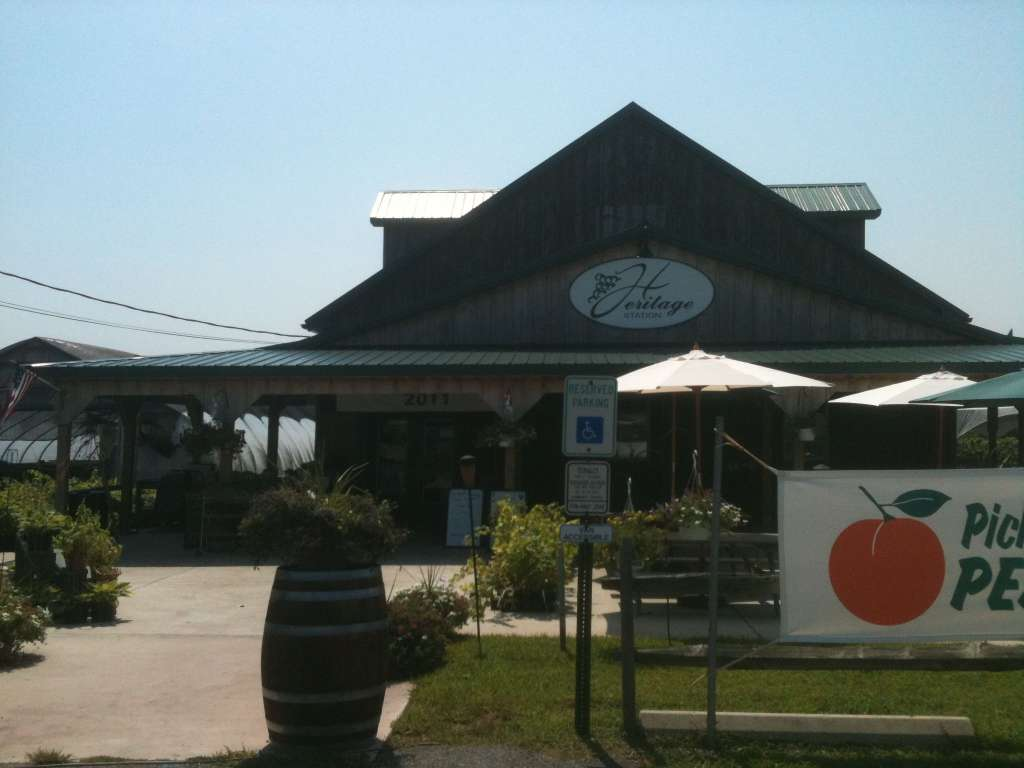 Heritage Vineyards in Mullica Hill, New Jersey.