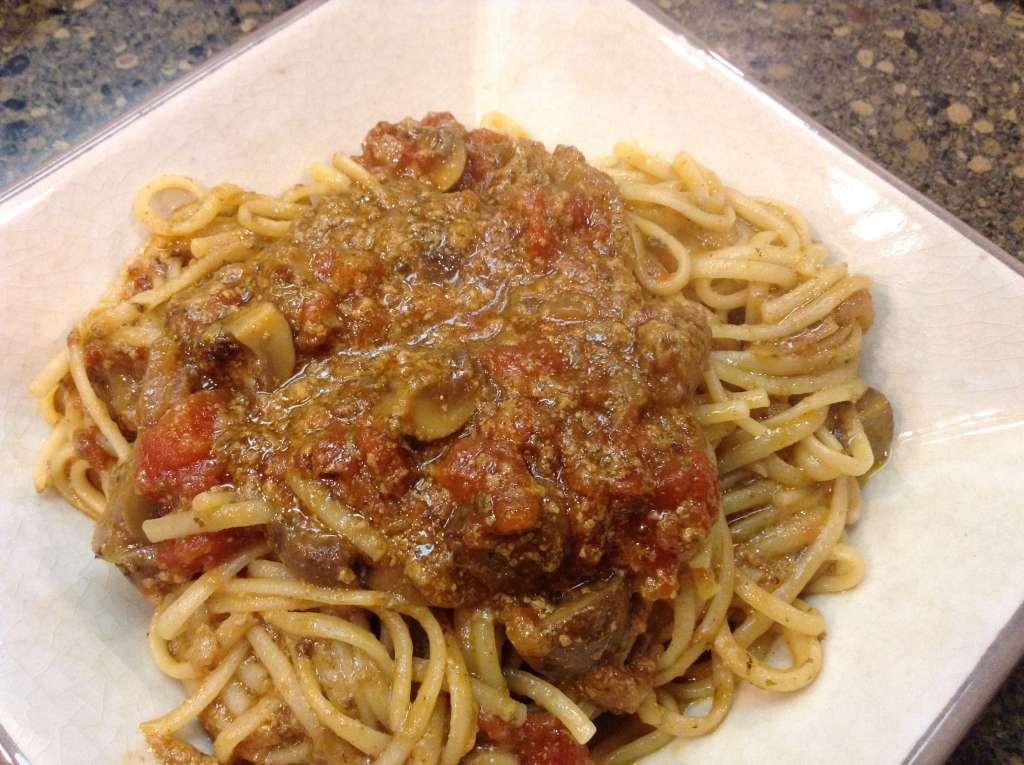 Pasta with Beef Gravy