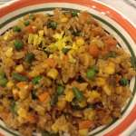 What's for Dinner: Szechuan Fish and Vegetable Fried Rice
