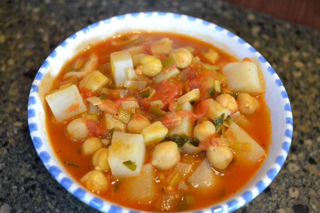 Parsnip and Turnip Winter Stew