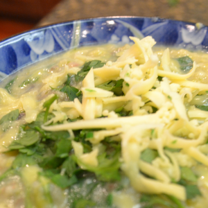 Potato and Kohlrabi Soup