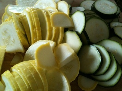 I love fresh summer squash from the garden!
