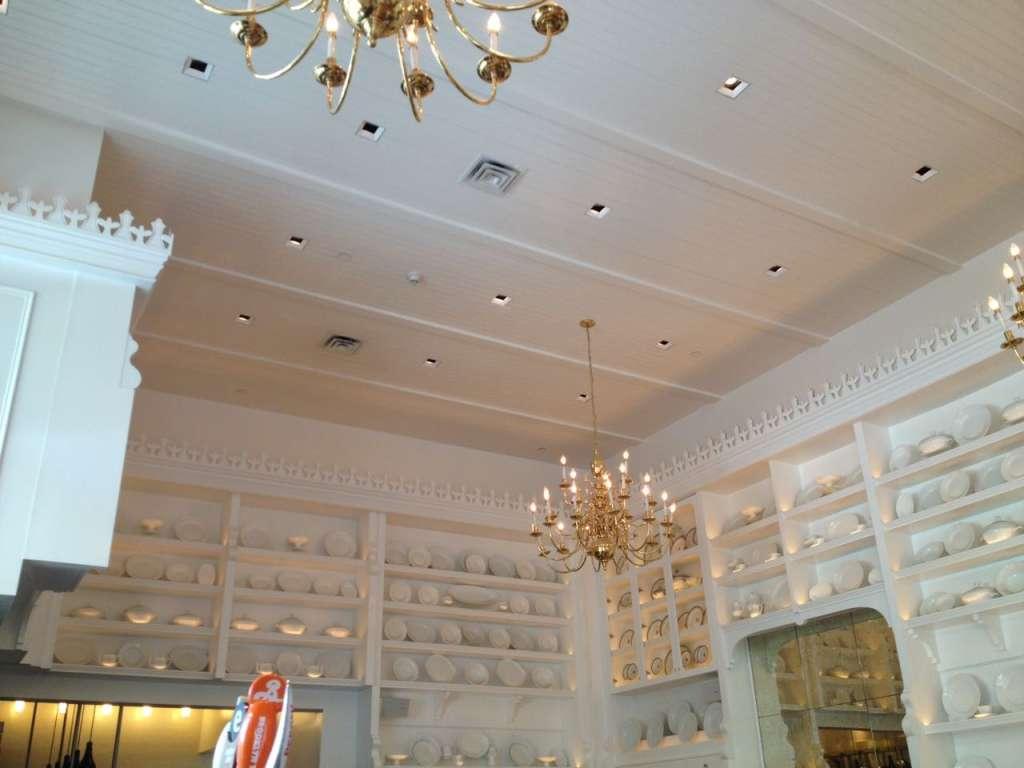 Cafe Storico interior