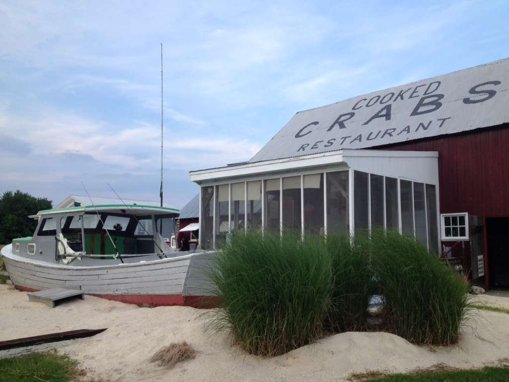 "Bayshore Crab House, aka ""Bull on the Barn"""