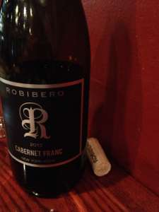 This New York State Cabernet Franc went really well with our entire meal.